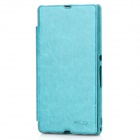 KALAIDENG Protective PU Leather Case for Sony Xperia Z L36h / L36i - Green