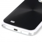 Protective Aluminum Alloy + ABS Back Case for Samsung Galaxy S4 i9500 - Black