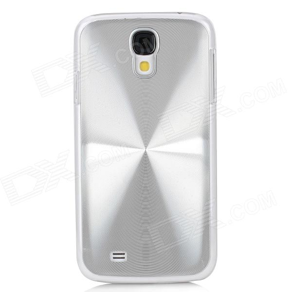 Protective Aluminum Alloy + ABS Back Case for Samsung Galaxy S4 i9500 - Silver aluminum alloy 20x telephoto lens w tripod case for samsung i9500