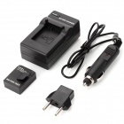 "SMJ Replacement 3.7V ""1050mAh"" Li-ion Battery w/ Car Charger + EU Plug for GoPro HD HERO 3 - Black"
