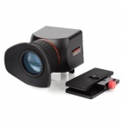 "CAPA Universal 2.5X SLR LCD Viewfinder for 3.0"" Screen Camera - Black + Red"