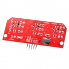 Three Line-Tracking-Sensor-Modul Board - Rot + Schwarz
