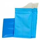 Outdoor Emergency Disposable Personal Urinal Bags - Blue (4 PCS)