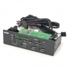 "STW 5.2 ""Hardware-Projektor USB 3.0 + HD Audio + 2.1A Out + Multi-Funktions-Kartenleser"