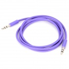 3.5mm Male to Male Audio Cable MP3 / MP4 / MP5 / Ipod + More - Purple (90CM)