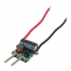 Internal Constant Current Source Power Supply Driver for MR16 3 x 1W LED light - Black + Green + Red
