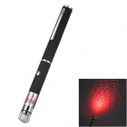 200319 Dot + Gypsophila 635nm 5mW Red Laser Pointer Pen - Black (2 x AAA)