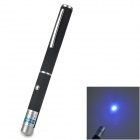 200281 5mW 405nm Blue-Violet Laser Pointer Pen - Black (3 x AAA)