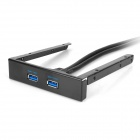 USB 3.0 Front Panel fro Desk Machine - Black