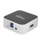BW-C0012A High Speed 5Gbps USB 3.0 4-Port HUB - Black + White
