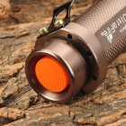 UltraFire 450~500lm 5-Mode White Zooming Flashlight - Brown (1 x 18650)