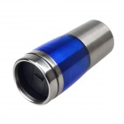 A07 Stainless Steel Vacuum Flask Bottle Cup - Blue + Silver (300ml)
