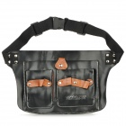 Multi-Functional Scissors / Hair Salon Tool Bag - Black + Brown