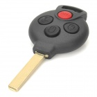 AML030921 Replacement 4-Button Remote Key Shell Case for Mercedes-Benz Smart