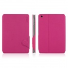 ENKAY ENK-3315 Protective PU Leather Case for Ipad MINI - Deep Pink