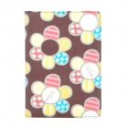 Fashionable Flower Pattern Protective PU Leather Case for Ipad MINI - Brown