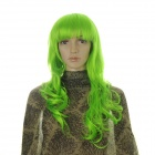 Fashion Korea Modlon Long Curly Wig - Green