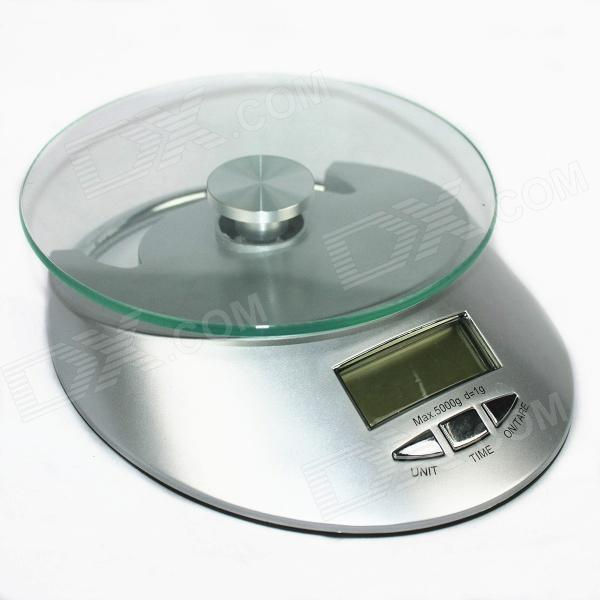 QE-KE-4 Electronic Kitchen Bench Scale - Silver (5000g/1g) plastic housing electronic weight scale mould