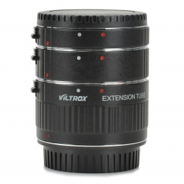 Viltrox DG-C Auto Macro Extension Tube Ring Set for Canon DSLR - Black