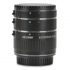 Viltrox ET-C Auto Macro Extension Tube / Ring Set for Canon SLR / DSLR - Black