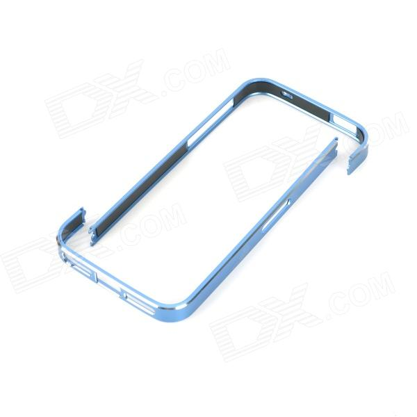 Stylish Ultra-thin Aluminum Alloy Protective Bumper Frame for Iphone 5 - Blue