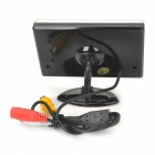 "Car 3.5"" LCD Rearview Monitor + Wireless 2.4GHz CMOS Camera w/ 7-LED Night Vision - Black"