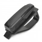 1301 Universal Car Sunglasses Glasses ABS Clip - Black
