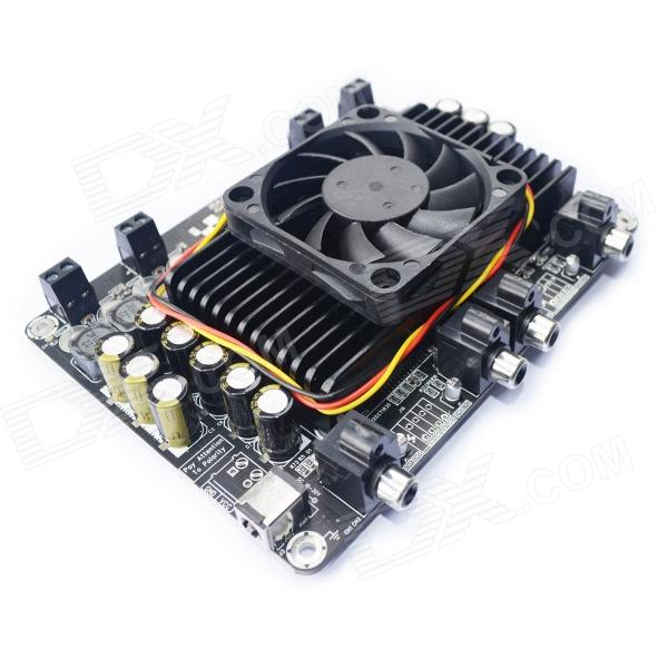 4 X 100W @4ohm TK2050 Class D Audio Amplifier Board - Black (10~30V) sk3875 2015 black edition with protection suite lm1875 upgraded version of the diy power amplifier board