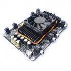 4 X 100W @ 4 Ohm TK2050 Class D Audio Amplifier Board - Black (10 ~ 30V)
