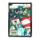 Stylish Oil Painting Style Plastic Back Case for Ipad MINI - Multicolored