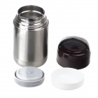 YonQuan YQP11-048 Vacuum Insulation Warm Stew Cup - Braun + Silber