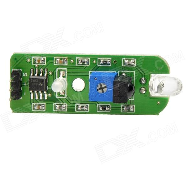 MF DIY 30kHz IR Infrared Obstacle Avoidance Detection Sensor Module for Funduino - Green (DC 5V)