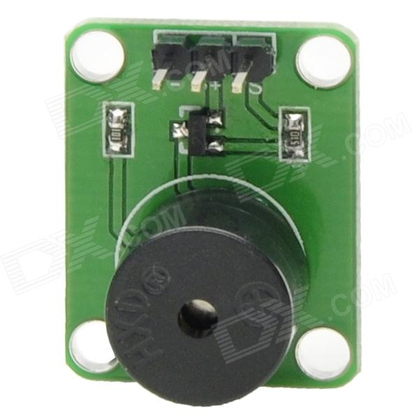 MF DIY Active Buzzer Module for Funduino - Green + Black (DC 5V)