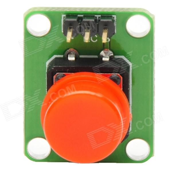 MF DIY Red Button Forward Click Button for Funduino - Green (3.3~5V)