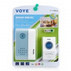 V004A Wireless Door Bell - White + Blue