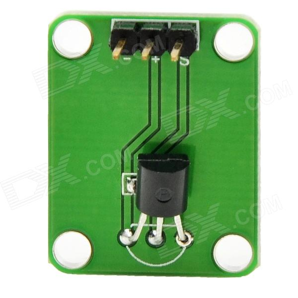 MF DIY DS18B20 Thermometer Temperature Sensor Module for Funduino - Green + Black formatter pca assy formatter board logic main board mainboard mother board for canon mf 4350d mf 4340d mf4350 mf4340 fk2 7656