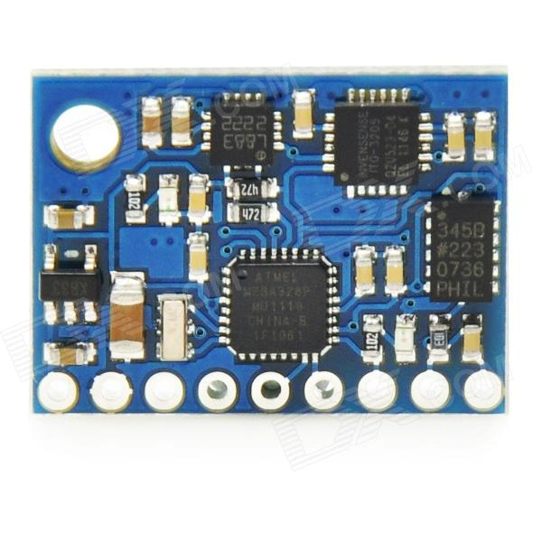 GY-951 AHRS 9DOF 9-Axis Inertial Navigation Funduino ITG3205 HMC5883L Module - Blue + Black imu 9 axis attitude sensor instead of 6050 9250 ahrs accelerometer gyro inertial 6 axis