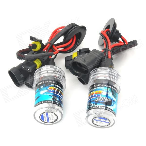 Merdia 9006 35W 3000lm 6000K Blue White Light Replacement Car HID Xenon Bulbs (12V / 2 PCS)