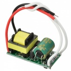 5~7W Light-Dimmer Internal LED Source Power Supply Driver - Green + Yellow (AC 85~160V / 170~277V)