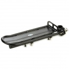 Bicycle Bike Aluminum Alloy Quick Release Rear Back Luggage Rack - Black