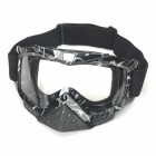 Z-104 Outdoor Motorcycle Skiing Goggles - Black + Grey