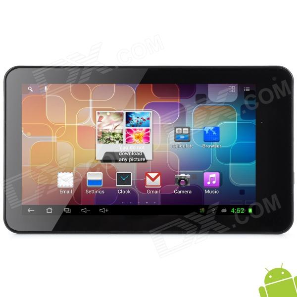 """Y7053 7"""" Capacitive Screen Android 4.1 Dual Core Tablet PC w/ TF / Wi-Fi / Camera - Silver"""