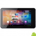 "Y7053 7"" Capacitive Screen Android 4.1 Dual Core Tablet PC w/ TF / Wi-Fi / Camera - Silver"
