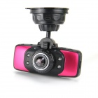 "KVD GS9000 2.7"" TFT LCD 1080P HD 5.0MP CMOS Car DVR w/ 4-LED Night Version / GPS / G-Sensor - Red"