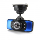 "KVD GS9000 2.7"" TFT LCD 1080P HD 5.0MP CMOS Car DVR w/ 4-LED Night Version / GPS / G-Sensor - Blue"