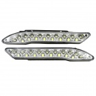 XB-193 0.48W 7500K 90lm 18-LED White Light Car Tagfahrlicht (12V / 2 PCS)