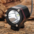 RUSTU D66J Cree XM-L T6 410lm 4-Mode White Bicycle Light Headlamp - Black (4 x 18650)