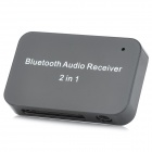 2-In-1 Wireless Bluetooth V2.1 Audio Receiver for Apple 30pin / 3.5mm Plug Speaker - Black