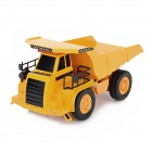 ShuangYing E510 1:10 2-Channel R/C 27MHz Mining Dumper - Yellow
