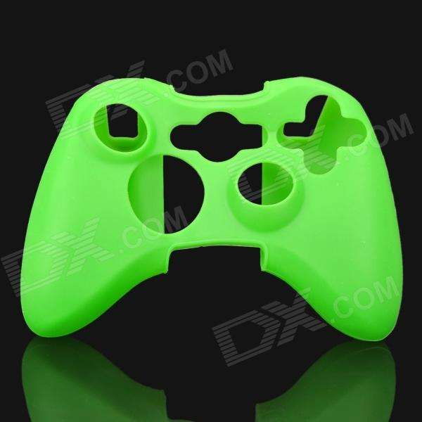 Protective Silicone Case for Xbox 360 Controller - Green protective silicone case for xbox one controller camouflage green